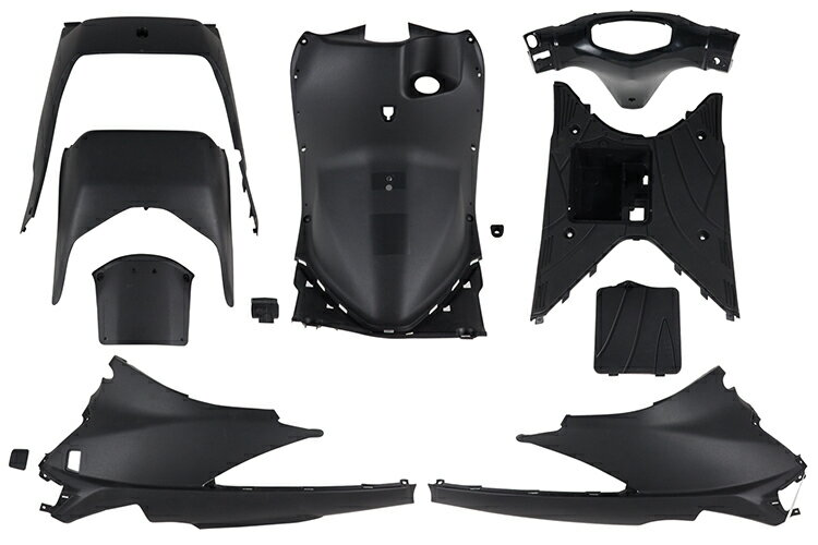 スズキ アドレスV125/G CF46A インナーカウルセット 12点 樹脂  未塗装  外装セット  バイクパーツセンター
