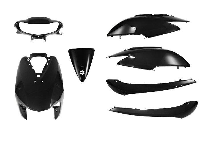 ホンダ ディオ【AF62/AF68】外装カウルセット 7点 黒【高品質】【台湾製】【ブラック】【DIO】【Dio】【dio】【塗装済】【外装セット】 バイクパーツセンター