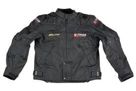 送料無料 バイク ジャケット DUHAN  モーターサイクル ジャケット ブラック オールシーズン  XXLサイズ  ドゥーハン  プロテクター付  インナーパッド  インナー着脱式  バイクパーツセンターDUHAN