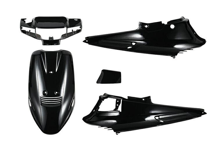 スズキ アドレスV100 CE11A 外装カウルセット 5点 黒 ブラック  塗装済  外装セット  バイクパーツセンター