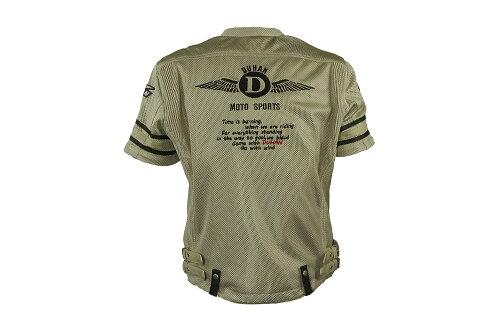【DUHAN】モーターサイクルメッシュジャケットグレー【3シーズン】【XLサイズ】【ドゥーハン】【プロテクター付】【インナーパッド】【インナー着脱式】【ライディングウェア】【バイク用】