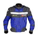 送料無料 バイク ジャケット DUHAN  モーターサイクル ジャケット ブルー オールシーズン  XLサイズ  ドゥー…