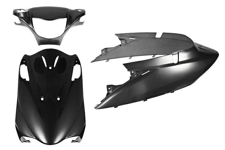 スズキ アドレスV125【CF46A】エンブレム付き 外装セット 3点 ガンメタ《限定セット》【外装セット】バイクパーツセンター