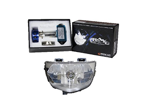 スズキ アドレスV125 セット RAYD LEDヘッドライト 省エネ 高光度