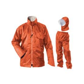 おたふく手袋 レインファクトリー RF-11 ベーシックタイプ コーラルオレンジ L OTAFUKU GLOVE  レインウエア  上下セット  雨具  合羽  作業用  耐久防水  明日楽非対応