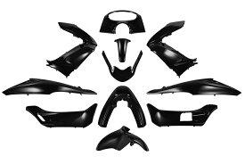 ホンダ PCX JF28/KF12 外装カウルセット 11点 黒 ブラック  高品質  台湾製  外装セット  塗装済  125  150  pcx  バイクパーツセンター