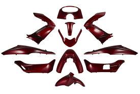 ホンダ PCX JF28/KF12 外装カウルセット 11点 赤 ワインレッド  高品質  台湾製  外装セット  塗装済  125  150  pcx  バイクパーツセンター