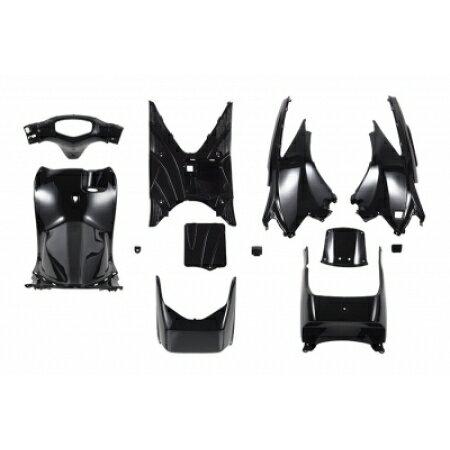 スズキアドレスV125/G【CF46A】インナーカウルセット12点黒【ブラック】【塗装済】【外装セット】バイクパーツセンター