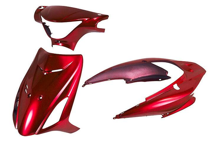 スズキ アドレスV125/S CF4MA 外装セット 3点 赤 外装セット  レッド  バイクパーツセンター