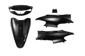 ホンダ ライブディオ AF34  最終型 外装カウルセット 5点 黒 ブラック  塗装済  外装セット  LiveDio  ライブDIO  dio  ZX  バイクパーツセンター
