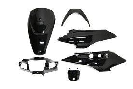 スズキ ZZ ゼッツー ジーツー CA1PB 外装カウルセット 6点 黒 ブラック  塗装済  外装セット  バイクパーツセンター
