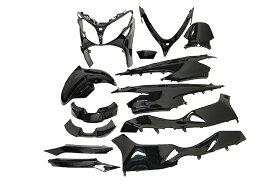 スズキ スカイウェイブ250 CJ44A TYPE S 外装セット 13点 エンブレム付 黒 ブラック  限定セット  外装セット  SKY WAVE  スカイウェーブ  塗装済  バイクパーツセンター