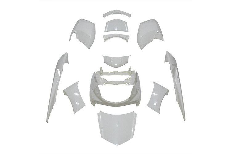 ヤマハ マグザム SG17J/SG21J 外装カウルセット 12点 白【ホワイト】【MAXAM】【塗装済】【外装セット】 バイクパーツセンター