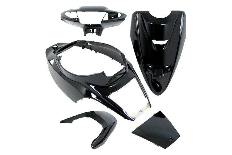 ヤマハ ジョグZR 3YK 外装5点セット 黒 ブラック  JOG  塗装済  外装セット  バイクパーツセンター