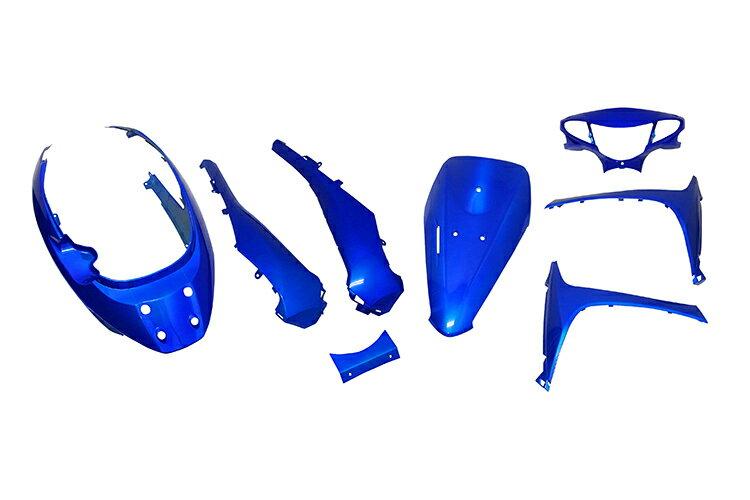 スズキ アドレスV50 CA42A/CA44A 外装セット 8点 青 外装セット  ブルー  バイクパーツセンター