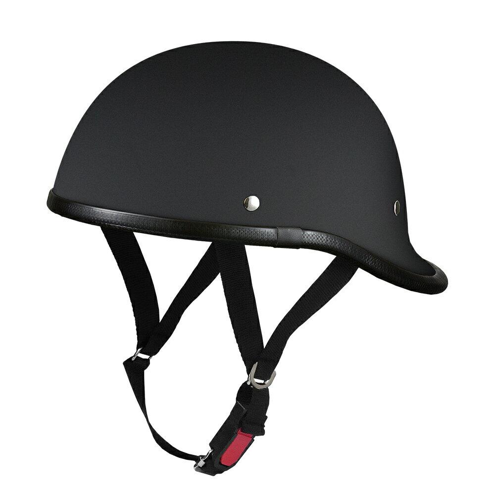 ダックテールロング マットブラック  フリーサイズ  124cc以下  SG規格適合 PSCマーク付  バイク  オートバイ  ヘルメット  半帽  バイクパーツセンター