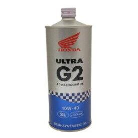 ホンダ純正エンジンオイル ウルトラ G2 10W-40 エンジンオイル  1L  10W40  バイクパーツセンター
