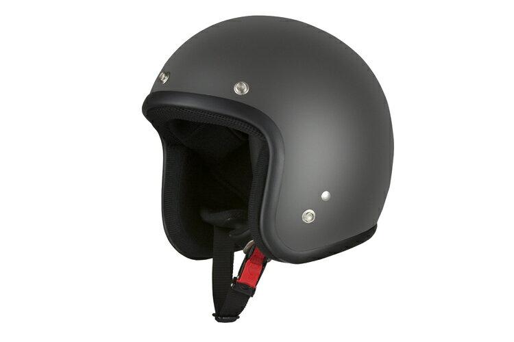 スモールジェット マットブラック 【フリーサイズ】【SG規格適合 PSCマーク付】【バイク】【オートバイ】【ヘルメット】 バイクパーツセンター