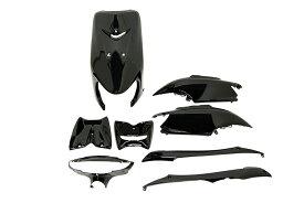 ヤマハ リモコンジョグZRエボリューション SA16J 外装8点セット 黒 ブラック  JOG EVOLUTION  塗装済  外装セット  バイクパーツセンター