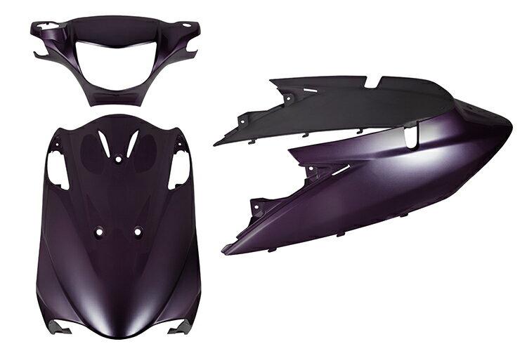 スズキ アドレスV125【CF46A/CF4EA】エンブレム付き 外装セット 3点 紫 パープル《限定セット》【外装セット】バイクパーツセンター