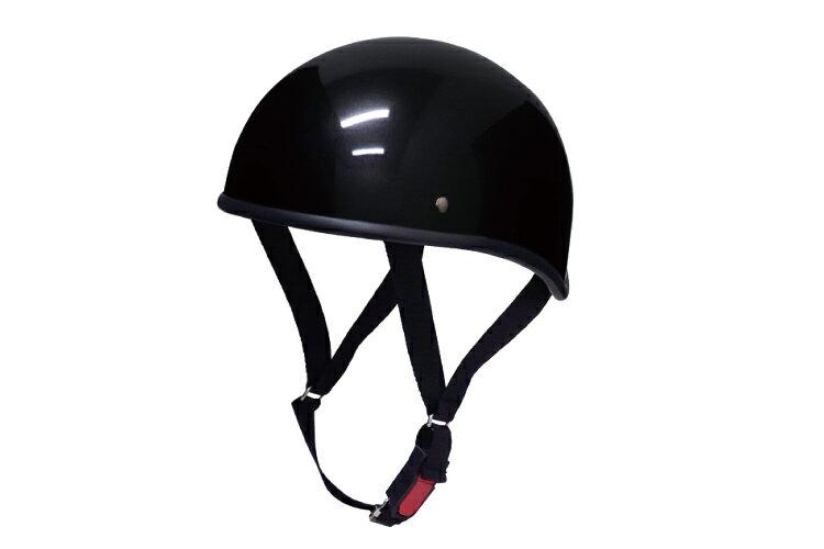 ダックテール ブラック  フリーサイズ  124cc以下  SG規格適合 PSCマーク付  バイク  オートバイ  ヘルメット  半帽  バイクパーツセンター