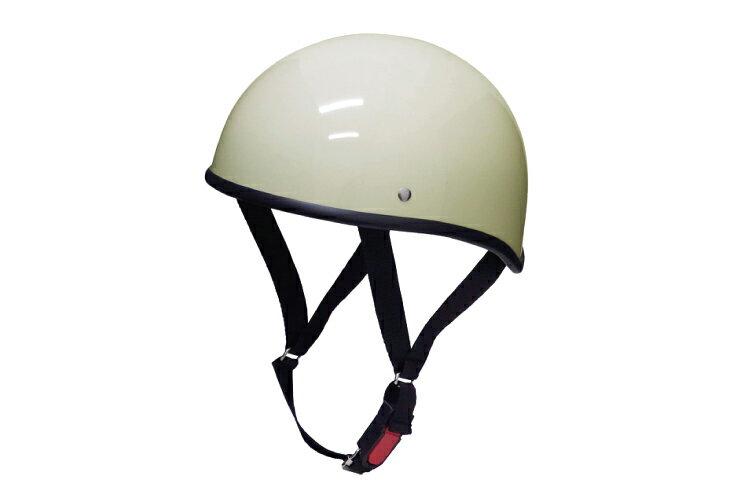 ダックテール アイボリー  XLサイズ  124cc以下  SG規格適合 PSCマーク付  バイク  オートバイ  ヘルメット  半帽  バイクパーツセンター
