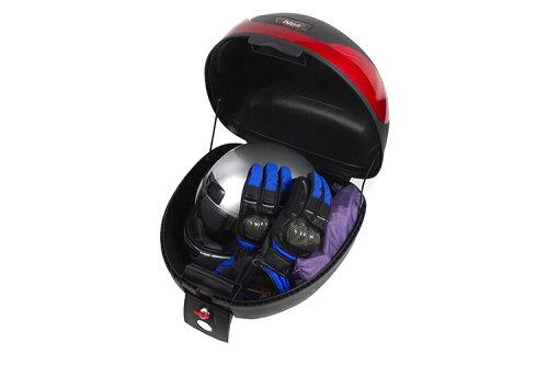 リアボックス黒【32L】ブラックTYPE-B【バイク】【オートバイ】【原付】【大容量】【通勤】【通学】【トップケース】【ツーリングバッグ】【ワンタッチ式】バイクパーツセンター