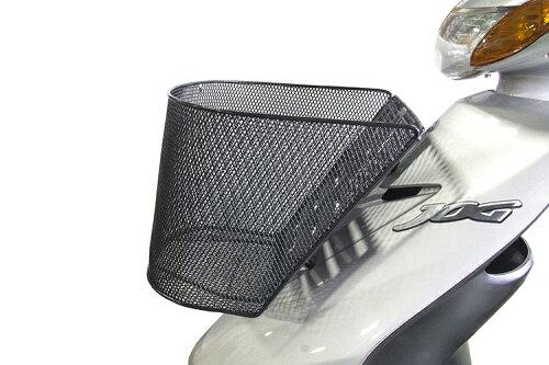 メッシュフロントバスケット【人気商品】あると重宝します!【前カゴ】スクーター用バイク用『バイクパーツセンター』【厳選】