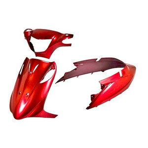 スズキ アドレスV125/G CF46A/CF4EA 外装カウルセット 3点 赤 レッド  AddressV125/G  塗装済  外装セット  バイクパーツセンター