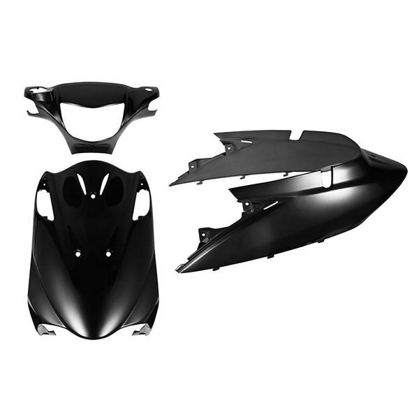 スズキ アドレスV125/G CF46A/CF4EA 外装カウルセット 3点 黒 ブラック  AddressV125/G  塗装済  外装セット  バイクパーツセンター