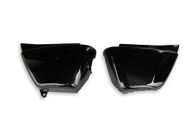 エイプ50 AC16/AC18 サイドカバー 左右セット 黒 ブラック  バイクパーツセンター