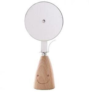 【送料無料】『ワイワイキッチン ピザカッター WY-35(パイカッター)』【木製 天然木 カトラリー テーブル キッチン 立つピザカッター 雑貨】