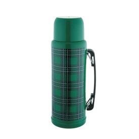 『エジンバラ2 サーモスボトル 1200 グリーン』【真空断熱 保温 保冷 サーモス ボトル ステンレス 水筒 チェック】