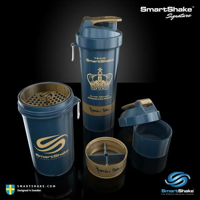 【送料無料】『SmartShake スマートシェイク シグネチャー ロニー・コールマン エディション 800ml』【プロテインシェイカー プロテインボトル 水筒 直飲み スポーツボトル マイボトル】