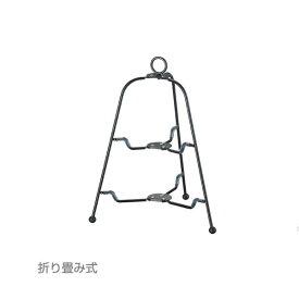 【セール!】『ツリー型 フォールダブルスタンド2段 BK』【TEA&COFFEE/ケーキスタンド/ケーキ台/パーティースタンド/アフタヌーンティー/ティーパーティー/ビュッフェ】【あす楽対応_近畿】