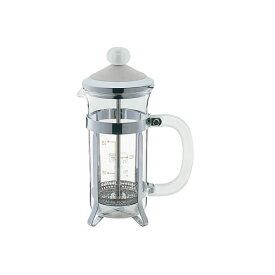 【数量限定セール!】『コルシカ コーヒー&ティーメーカー 2カップ用 WH』【TEA&COFFEE コーヒーメーカー ティーメーカー プレス式 キッチン】