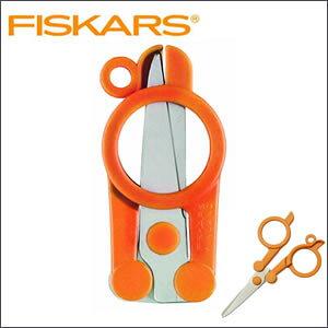 【ゆうパケット・ネコポス対応】『フィスカース 携帯用はさみ』【Fiskars ハサミ 折りたたみ式 携帯用 文房具 文具 事務用品】