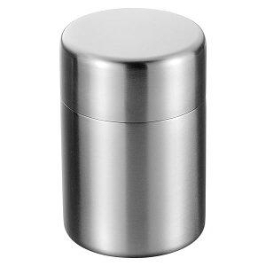 『ステンレス茶筒』[アサヒ]【茶葉入れ おちゃっぱ お茶 紅茶 コーヒー用品 お茶缶 保存容器 コーヒー豆 キャニスター ステンレス 茶筒 TEA&COFFEE】