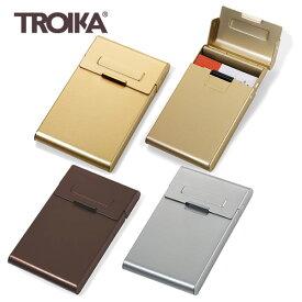 【メール便 送料無料】『ドイツ トロイカ ビジネスカードケース リーディングロール』【TROIKA 名刺入れ カード入れ ギフト 雑貨】