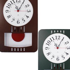 『レトロモダンクロック YK15-001 振り子時計』【ヤマト工芸 yamato インテリア 掛け時計 振り子時計 時計 日本製】