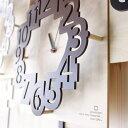 【送料・代引料無料】『ナンバークロック YK16-001』〜number clock〜【ヤマト工芸 yamato インテリア 掛け時計 時計 …