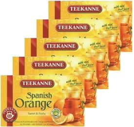 日本緑茶センター ポンパドール スパニッシュオレンジ 1箱20P入り×5個セット