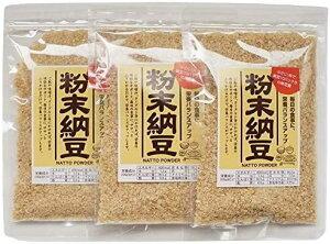 粉末納豆 40g × 3袋 小さじ1杯で納豆10パック分の納豆菌