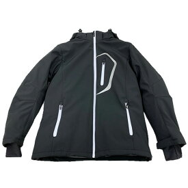 クレバーオム COJ-1104 ウインタージャケット ブラック/ホワイト