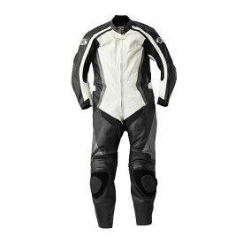 スピードオブサウンド SOS-18 レザースーツ ホワイト/ブラック