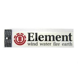 2018 エレメント ステッカー W235mm x H50mm 全2色 F ELEMENT
