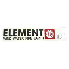 2018 エレメント ステッカー W250mm x H50mm 全2色 F ELEMENT