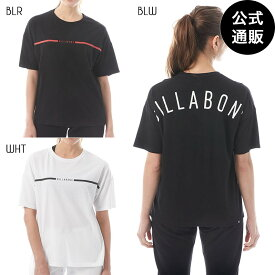【SALE】【送料無料】2019 ビラボン レディース【CORE LINE】アーチロゴルーズTシャツ 全3色 M/L BILLABONG