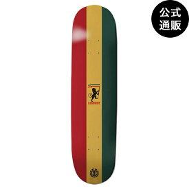 【送料無料】2019 エレメント スケートボード 8インチ RASTA CAPSULE デッキ 全1色 8 ELEMENT