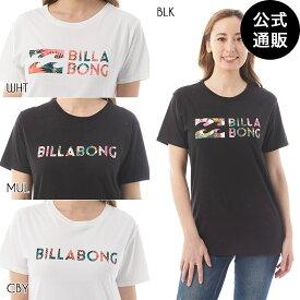 【SALE】【送料無料】2019 ビラボン レディース BASIC ロゴTシャツ 全4色 M/L BILLABONG